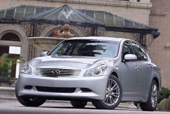 Люксовый аналог Nissan Skyline седан Infiniti G35 начнет завоевание мира с Южной Кореи