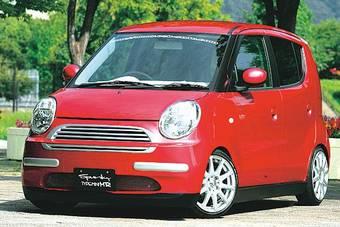 Spunky Type-Mini MR не улучшает аэродинамические показатели машины, а только придает ей оригинальный вид