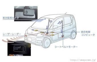 Daihatsu Move обрела уникальную систему безопасности, в основу которой легла технология Active Safety, применяющая лазерный локатор и систему оповещения о сходе с полосы.
