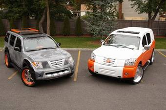 Известный дизайнер Марк Эко представил свое видение внедорожников Nissan.