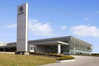 Начать продажу автомобилей Acura планируется осенью 2008 года (на фото автосалон Acura в Китае).