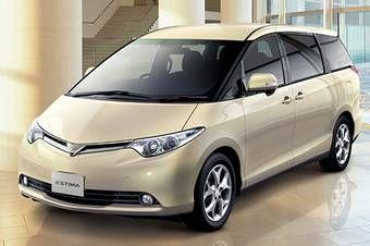 Некоторые модели Toyota Estima отправятся обратно на завод для доработки.