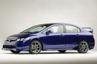 Honda представила американцам спортивные версии некоторых своих автомобилей.