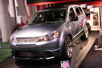 Mitsubishi Evolander спорт-концепт представленный на SEMA автошоу.