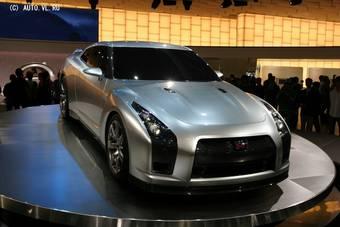 Nissan GT-R покажут в конце следующего года.