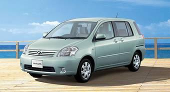 Toyota Raum прошел малую модернизацию.