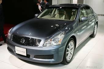 Nissan Skyline в ближайшие годы станет гибридом.