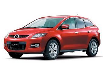 Mazda CX-7 поступила в японские шоурумы.