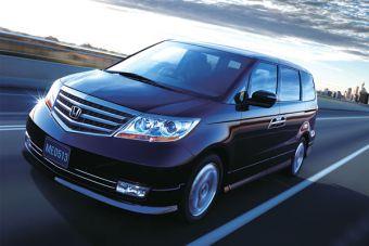 """Honda Elysion """"Prestige"""" укомплектуют 300 сильным мотором от Honda Legend."""