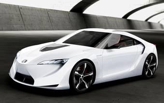 Toyota FT-HS гибридный спортивный 400 сильный концеп-кар будет представлен на Детройтском автосалоне.