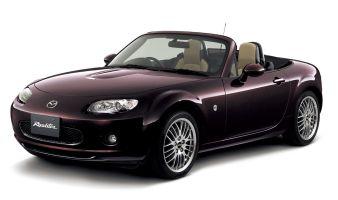 Mazda Roadster (Mazda MX-5) приобрел новый цвет экстерьера