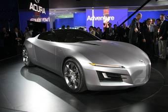 """Acura """"Advanced Sports Car Concept"""" на Детройтском автосалоне."""