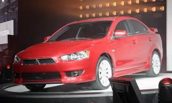 Mitsubishi Lancer 2008 представлен в Детройте.