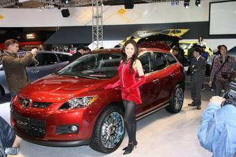 Mazda CX-7хорошо пошла в Японии.