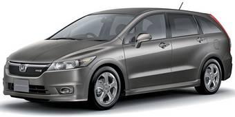 Через месяц Honda выпустит новый кроссовер на базе Honda Stream.