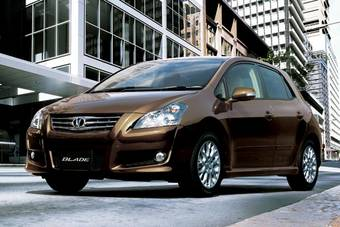 Toyota Blade оказалась востребованным автомобилем.