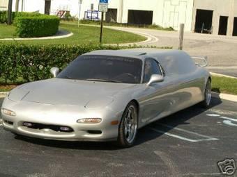 Mazda RX-7 лимузин выставлен на открытые торги... Пока желающие скромны в своих ставках.