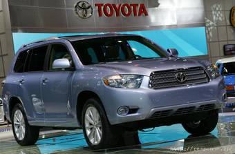 Toyota представила новое поколение автомобилей Highlander Hybrid и Highlander.