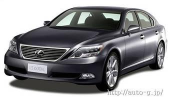 В Японии начинаются продажи Lexus LS600h.