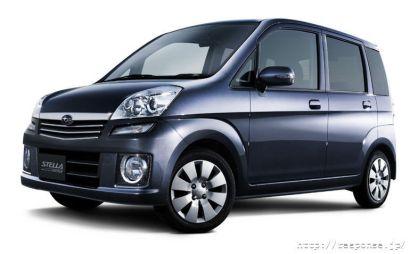 Subaru выпускает особую комплектацию Subaru Stella