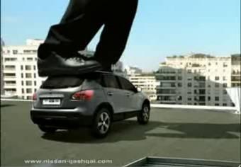 Nissan взялся за продвижение нового автомобиля Nissan Qashqai на европейский рынок