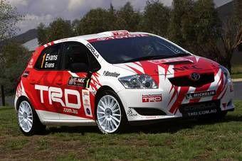 Дизайн автомобиля выполнен в стилистике TRD - спортивного подразделения Toyota.
