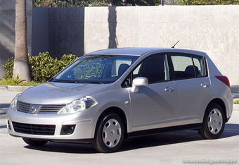 Nissan осенью 2007 года представит на российском рынке модель Nissan Tiida.