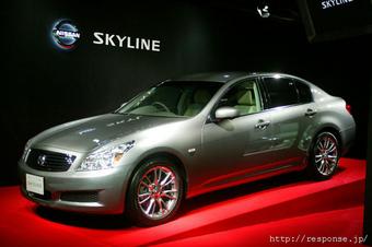 Новое поколение Nissan Skyline может проехать 1 000 километров на одном баке топлива.
