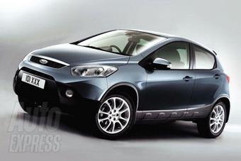 Компания Ford сделает из Mazda2 новый кроссовер повышенной проходимости.