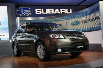 Subaru Tribeca представлена в Нью-Йорке.