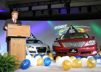 Lexus LS460 получил высокое звание лучшего автомобиля мира 2007 года.