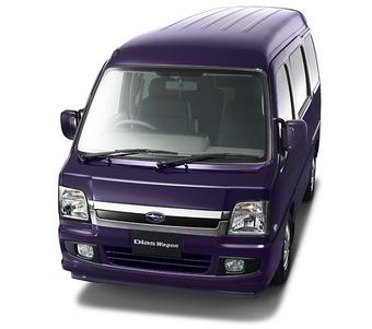 """Subaru Sambar Dias Wagon в комплектации """"Tough Package Limited"""" вышел на внутренний рынок Японии."""