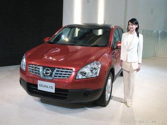 Продажи Nissan Dualis начнутся в Японии в конце мая.