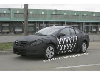 Тестовый образец новой Mazda6 замечен радом с заводом компании Ford в США.