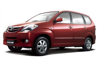 Daihatsu Xenia в Китае.