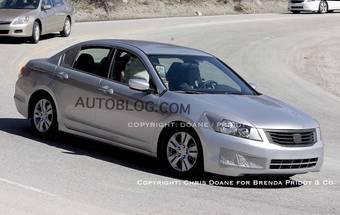 Honda Accord проходит тесты в США.