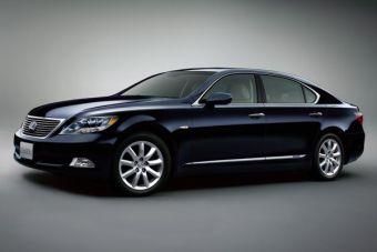 Гибридные автомобили представительского класса Lexus LS600h и Lexus LS600hL предствлены в Японии.