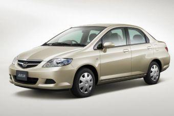 Honda Fit Aria прошёл малую модернизацию.