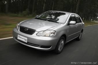 Toyota Corolla получила моторы на биоэтаноле.
