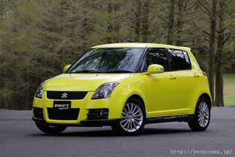 Suzuki 24 мая представила обновленный Suzuki Swift Sport.