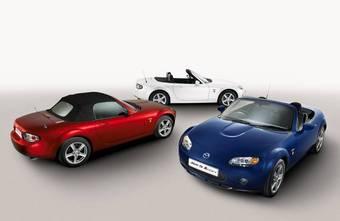 Mazda MX-5 в комплектации «Икона» вышла на рынок Англии.
