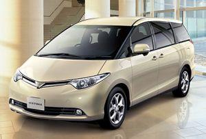 На японский рынок выходит рестайлинговая Toyota Estima