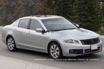 Honda Accord 2008 проходит плановую обкатку в США.