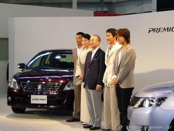 Президент компании Toyota г-н Ватанабэ Кацуаки 4 июня провел презентацию нового поколения автомобилей Toyota Allion и Toyota Premio.