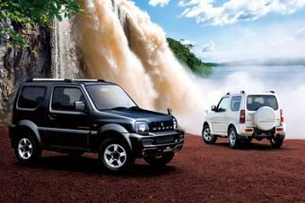Suzuki Jimny и Suzuki Jimny Sierra в комплектации «Land Vanture» представлены в Японии.