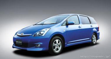 Toyota выпускает особые комплектации автомобиля Toyota Wish