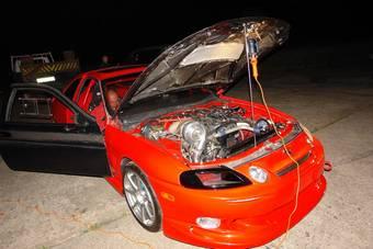 Toyota Soarer Дениса Беликова готовится к Битве.