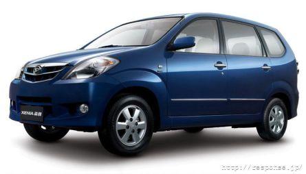 Daihatsu начинает в Китае продажи кроссовера Daihatsu Xenia