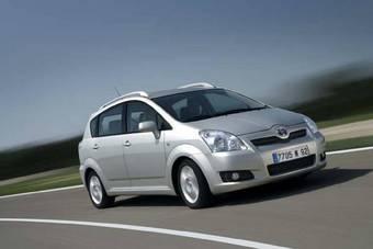 На российский рынок выход обновленная Toyota Corolla Verso.