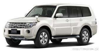 Mitsubishi Montero будет продаваться в Индии. (На фото Mitsubishi Pajero 2007 года).